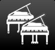 グランドピアノ2台演奏対応スタジオ